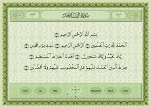 Quran Player tampilan pengguna